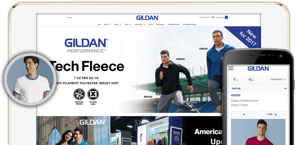 Click here to view the Gildan Website