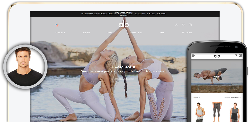 Click here to view Alo Yoga Website