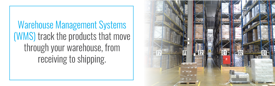 Function of warehouse management systems