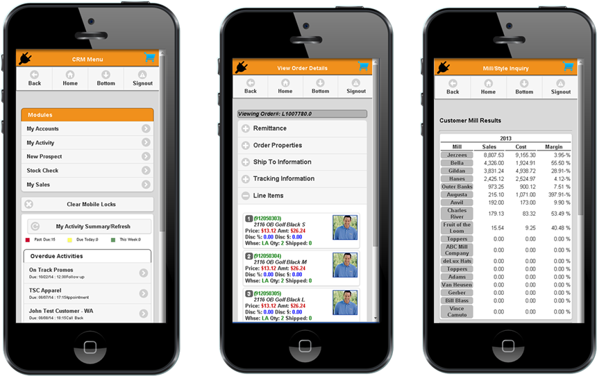 FDM4's CRM is Fully Mobile