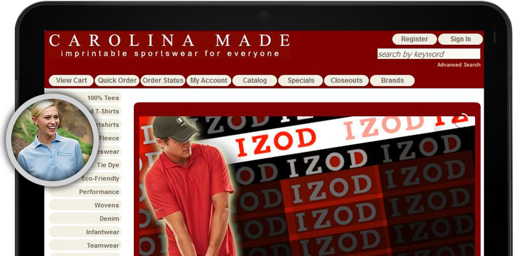 Click here to view the Carolina Made Website