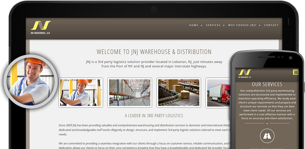 JNJ Warehouse Website