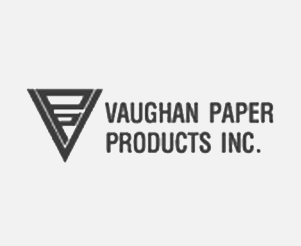 FDM4 Customer: Vaughan Paper Logo