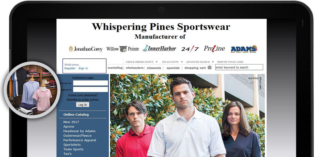 Whispering Pines Website