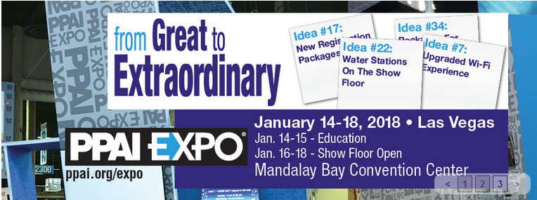 PPAI Expo 2018 event information