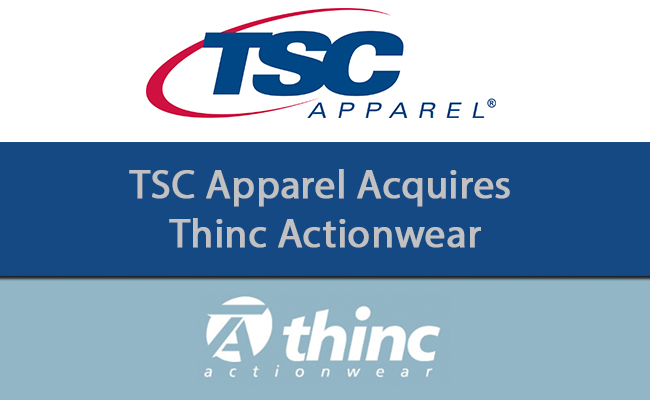 TSC Apparel acquires Thinc Actionwear