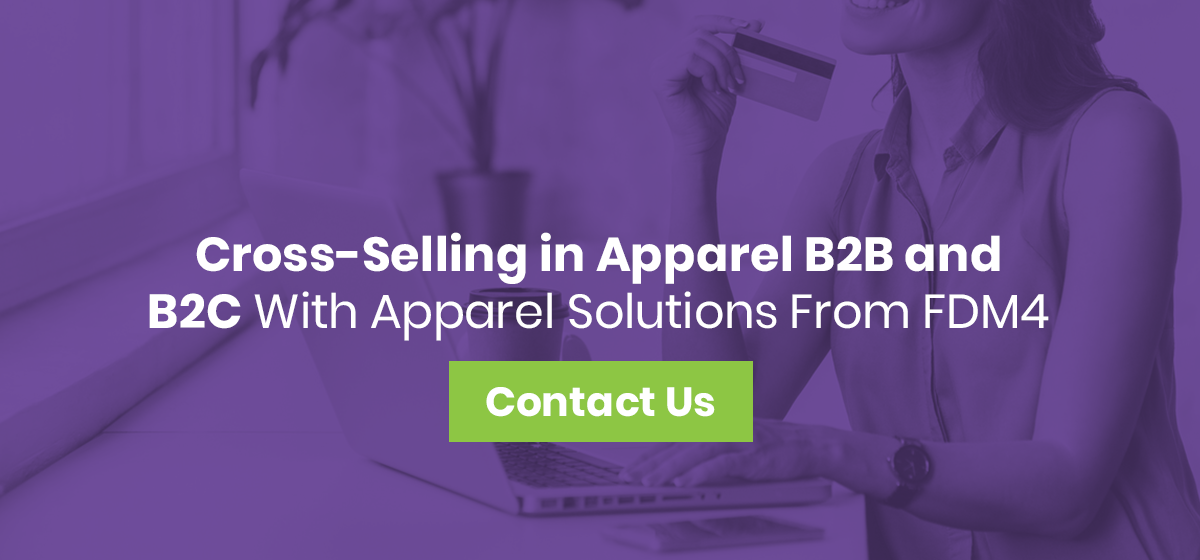 cross-selling apparel solutions from FDM4
