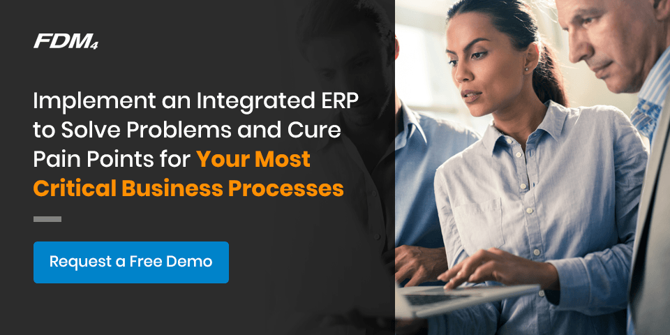 Implement an integrated ERP free demo call to action