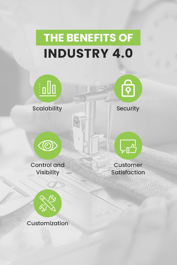 The benefits of industry 4.0