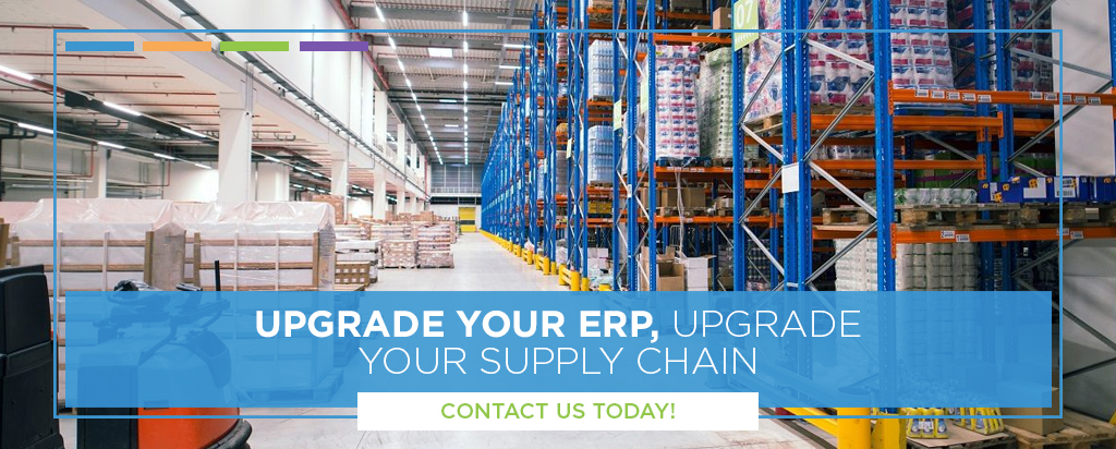 Upgrade your supply chain with an erp call to action