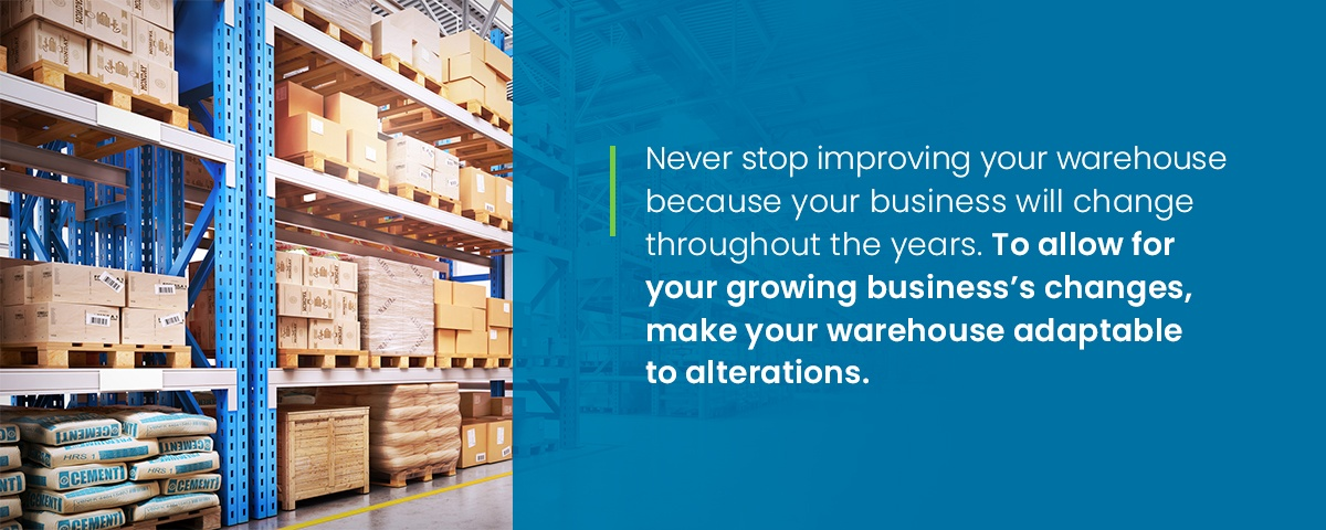 Make your warehouse adaptable to business changes