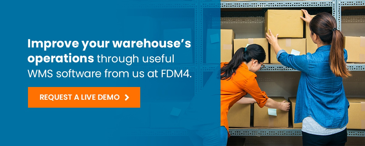 Improve operations with FDM4's WMS software demo call to action